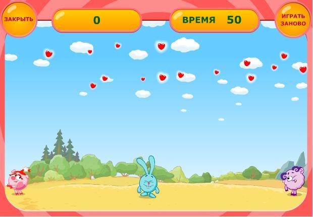 Игры Смешарики играть онлайн